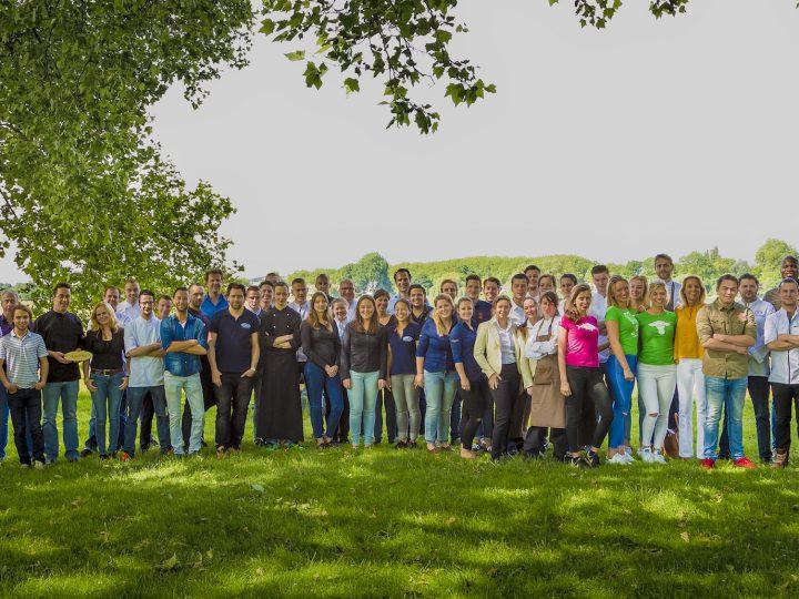 Groepsfoto Team Korte Putstraat