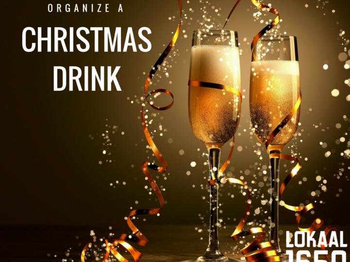 Organize a christmas drink!